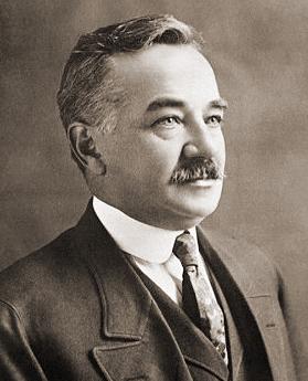 Portrait shot of Milton S. Hershey